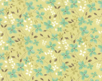 Moda REFRESH Quilt Fabric 1/2 Yard By Sandy Gervais - Grass 17862 14