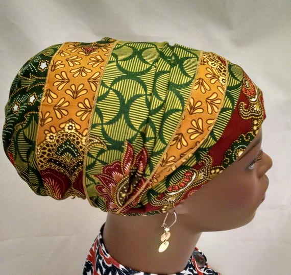 Rich tones cotton sinar tichel, tichels, chemo scarves, head scarves, hair snoods