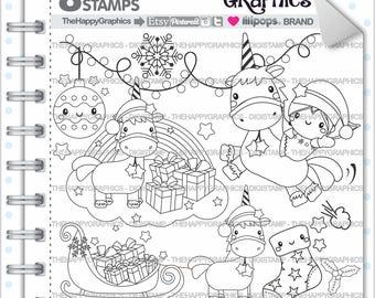 Unicorn Stamp 80OFF Commercial Use Digi Digital Image