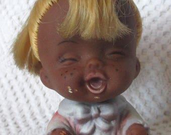 Figurine doll expressive Made in Hong Kong Tiki Doll * doll Tiki 60-70 years