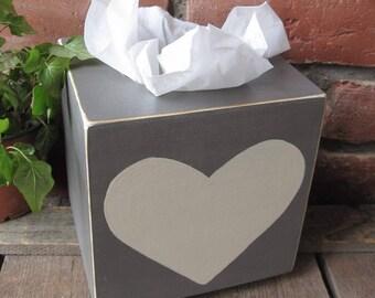 Box Coeur2 handkerchief
