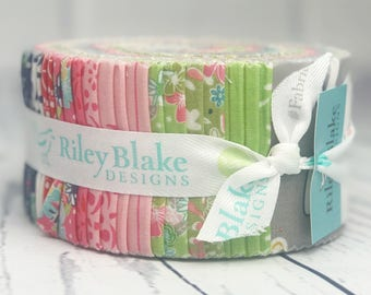 Daisy Days Jelly Roll - Riley Blake Designs - Keera Job - 40 pieces