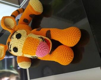 Tigger plush all cotton crochet