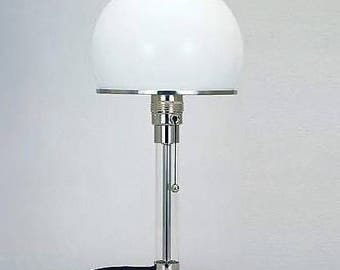 Wagenfield lamp, German retro lamp, Retro Lamp, Vintage Lamp, Space Age lamp, home decor,