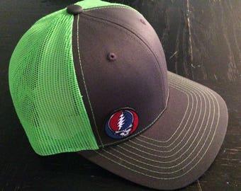 SYF on Charcoal/Neon Green Trucker Hat