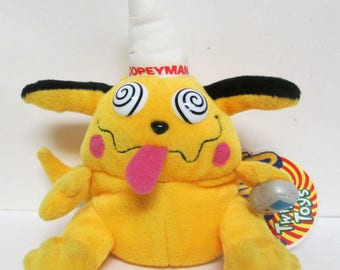 Dopeyman Meanies Beanbag Plush Doll Idea Factory Pokemon Pikachu Parody