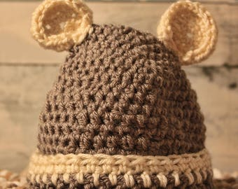 Infant Bear Hat