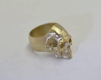 Skull Ring Ultra Detailed Design