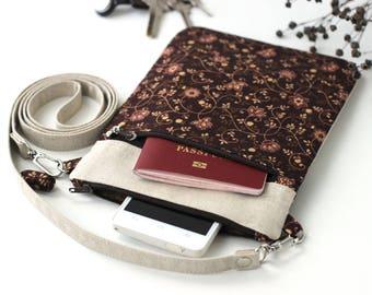 Small Shoulder Bag, Crossbody Bags, Small Purse Cross Body Phone Bag, Small Crossbody Purse, Canvas Crossbody Bag Small Travel Bag Free gift