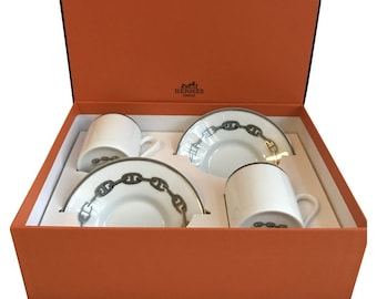 Hermes chaine the Ancre coffee cup