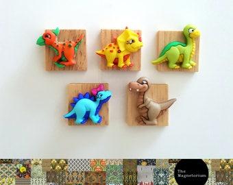 Little Dinosaur Fridge Magnet Set