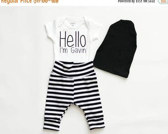 25% Off Christmas in July personalized boy baby shower gift, baby boy coming home outfit, baby boy clothes, boy bodysuit, personalized bodys