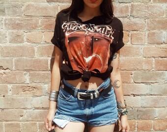 Custom Grunge  Aerosmith Tee