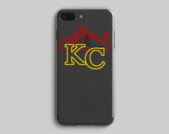 Kansas City.KC.Kansas City Football.Kc Skyline.KC Phone case.Sunday Funday.Loud and Proud.Red and Gold.Red and Yellow.Football