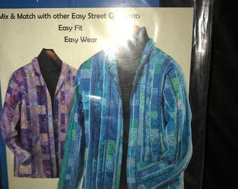 2 great patterns~Ladies Jackets~Easy Street Garmets & sunflowers Cardigan