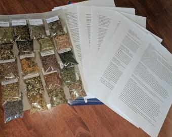 Dried Herbs - 10 x 5 gram bags
