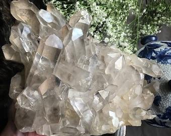 4+ Poins Crystal Quartz Cluster