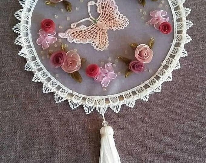 Hand embroidery dream catcher