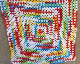 Baby color change blanket