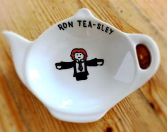 Harry Potter themed tea bag tidy