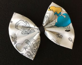 Alice in wonderland bow, Alice bow