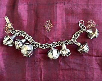"Magical ""tannis root"" bauble charm bracelet. About 7""-8"" long. C. 60s"