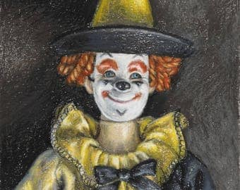 Ken as a Clown, 1963 - signed limited edition print