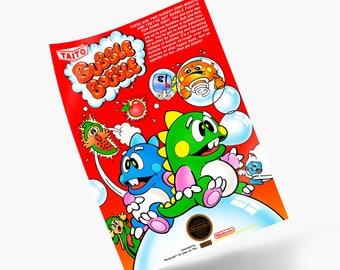 Bubble Bobble NES Print