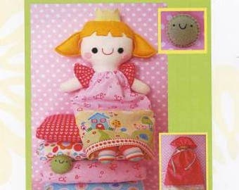 The Princess and the Pea Pattern by Two Brown Birds