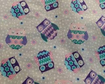 Owl Baby Girl Blanket