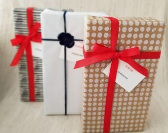 Gift Wrap Add-On - Holidays Birthday Valentine's Easters Mother's Day Father's Day Monday Tuesday Wednesday Thursday Friday Saturday Sunday