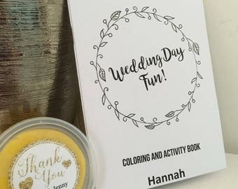Kids Colouring Wedding Favours