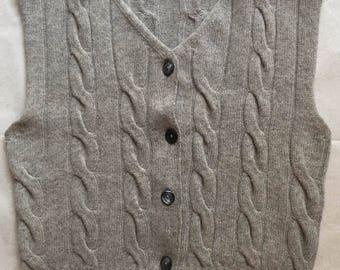 vintage micro pullover