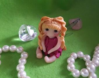 Miniature fairy polymer clay