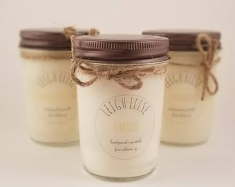 Fireside Hand Poured Soy Candle