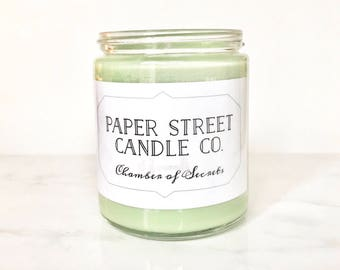 Chamber | soy wax candles | wizard inspired candle | book candles | book gifts | literary candles | natural candles