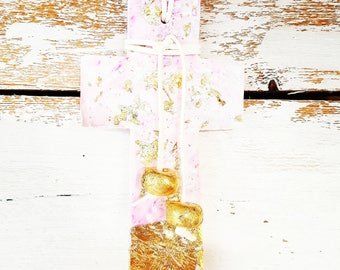 Handmade wallcross, cross, walldecor,