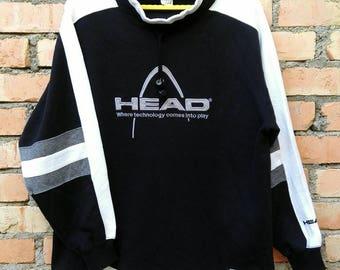 Rare!!! Head Pullover Sweatshirt  Large Size
