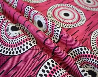 African Print Fabric for crafts - Ankara African Print - African Fabric - Wax Print Fabric  - African Print - Fabric per yard