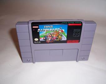 Mario Kart Snes Super nintendo USA (Amazing condition)