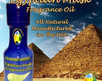 1st Day of Summer 20% Off Egyptian Musk All Natural Fragrance Oil 30 ml