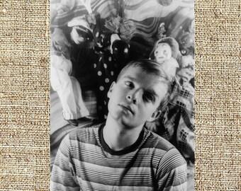 Truman Capote photograph, Truman Capote black and white photo print, Truman Capote vintage photograph
