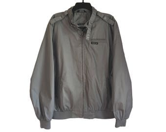 Vintage Gray Members Only Jacket X-Large/XX-Large FREE SHIPPING!