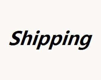 Shipping additional Charge