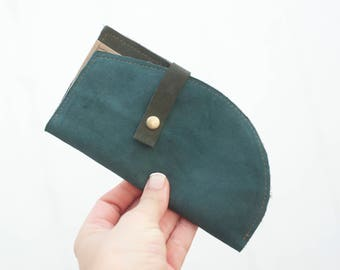 Leather wallet, Slim Wallet, Minimal wallet, Minimalist Leather Wallet, Gift for her, Gift for him, Gift for women, Gift for men