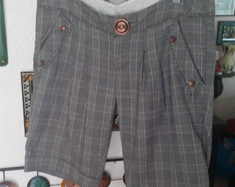 Cute Plaid Tailored Shorts
