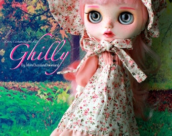 OOAK Custom Blythe Doll #20 - Ghilly by WhiteChocolateDreamland