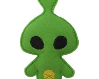 Green Alien Catnip Toy