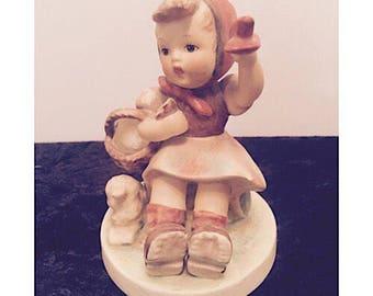 """Vintage M.J. Hummel Figurine """"Farewell"""""""