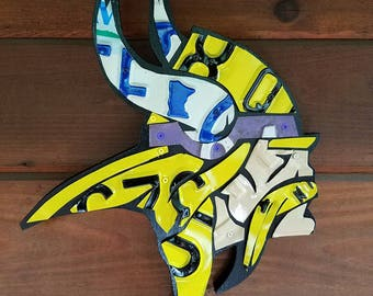 Minnesota Viking wall art home decor hanging